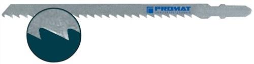 5 Stück Stichsägeblatt Gesamtlänge 132 mm Zahnteilung 4 mm HCS