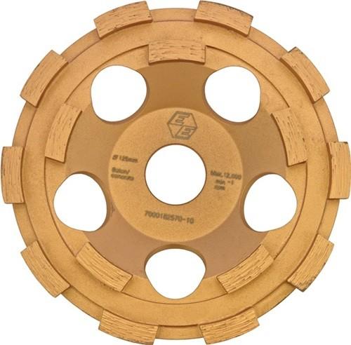 EIBENSTOCK 37102000 Diamantschleiftopf Premium 125 mm für Beton 22,23 mm