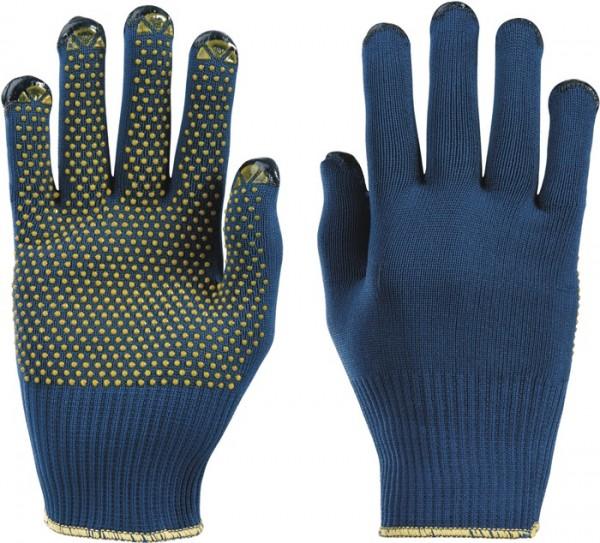 HONEYWELL 914/7 Handschuhe PolyTRIX BN 914 Gr.7 blau/gelb Polymid EN 388 Kate