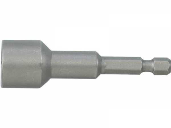 PROMAT Steckschlüsseleinsatz mit 6-Kant-Antrieb Schlüsselweite 9,4 mm Länge 60