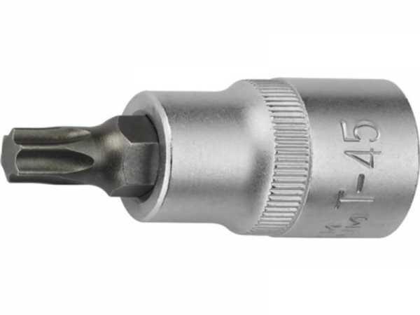 PROMAT Steckschlüsseleinsatz 1/2 Zoll TX T50 Länge 55 mm