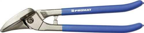 PROMAT Idealblechschere Länge 260 mm rechts Stahl max. 0,8 mm Edelstahl max. 0