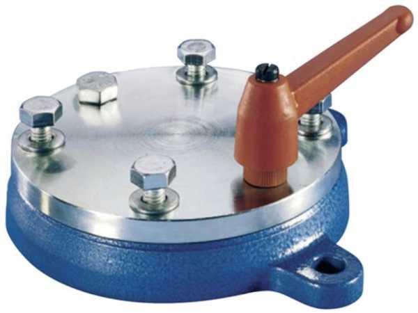 PROMAT Drehteller für Backenbreite 100 mm 4 Befestigungslöcher