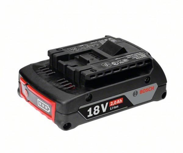 Bosch 1600Z00036 Akkupack GBA 18 Volt, 2.0 Ah