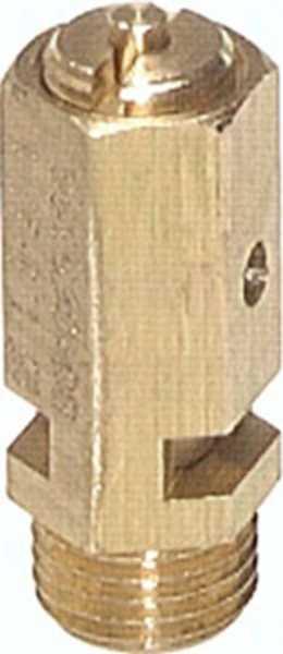 """Sicherheitsventil G 1/4"""" (DN5) , 6,5 - 10 bar SV 14-10"""