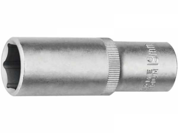 PROMAT Steckschlüsseleinsatz 1/2 Zoll 6-kant Schlüsselweite 17 mm Länge 77 mm