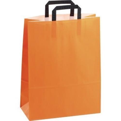 Papiertragetasche Topcraft 1FTTC009032 orange groß 50 St./Pack