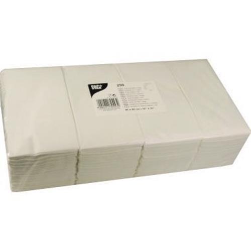 PAPSTAR Serviette 82553 40x40cm 1/8 Falz 2lagig weiß 250 St./Pack.