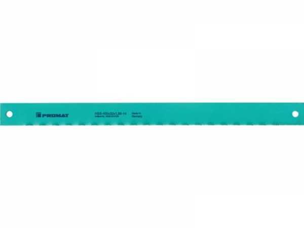 PROMAT Maschinensägeblatt L600xB50xS2,5mm HSS Loch-D. 10,5 mm Zähne per Zoll 4