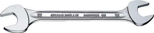 STAHLWILLE 40033641 Doppelmaulschlüssel MOTOR 36 x 41 mm Länge 375 mm verchromt