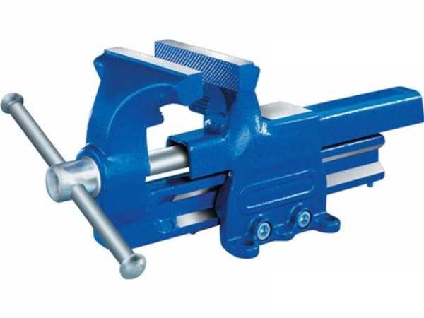 PROMAT Parallelschraubstock Backenbreite 120 mm Spannweite 150 mm geschmiedet