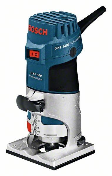 Bosch 060160A100 Kantenfräse GKF 600, mit Handwerkerkoffer
