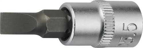 PROMAT Steckschlüsseleinsatz 1/4 Zoll Schlitz 5,5 mm Länge 32 mm