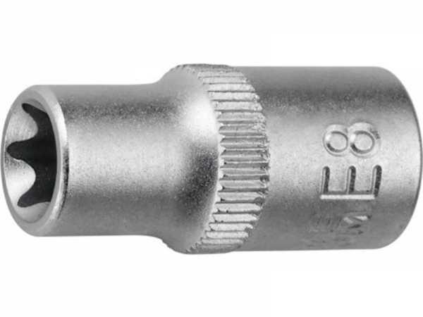 PROMAT Steckschlüsseleinsatz 1/4 Zoll E E4 Länge 25 mm