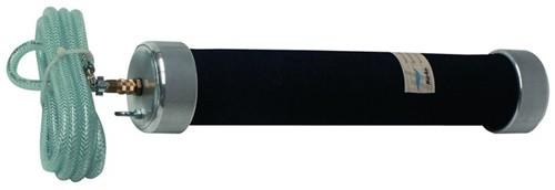 ELEMENT SYSTEM 11100-00029 Möbelfuß weißaluminium 30 mm Höhe 250 mm Anschraubpla