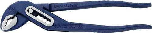 PROMAT Wasserpumpenzange Länge 175 mm Spannweite 26 mm poliert blau kordiert