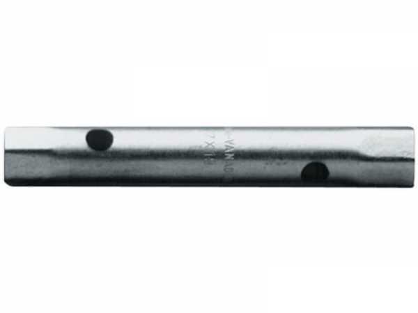PROMAT Rohrsteckschlüssel Schlüsselweite 24 x 27 mm Länge 185 mm Bohrungs-D. 1