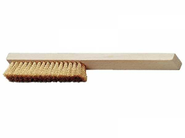 PROMAT Feinkratzbürste Länge 220 mm 0,15 mm Messing 4-reihig