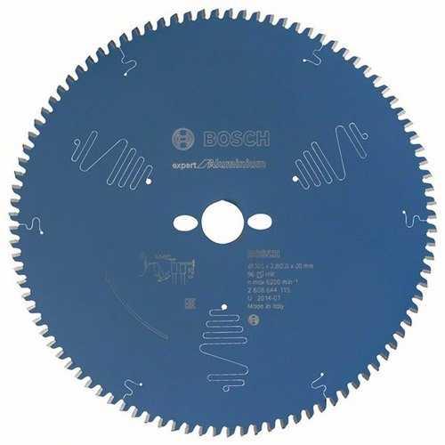 BOSCH 2608644115 Kreissägeblatt Expert for Aluminium Außen-D.305mm Bohrung 30mm