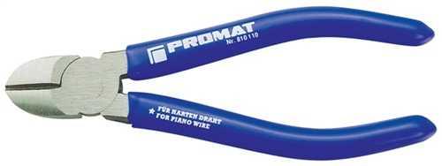 PROMAT Seitenschneider Länge 180 mm Kopf poliert Kunststoffüberzug