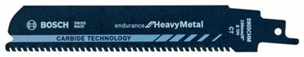 BOSCH S 955 CHM Säbelsägeblatt 10 Stück / Karte Länge 150 mm Breite 25 mm Zahnte