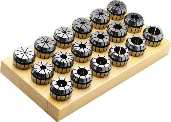 PROMAT Spannzangensatz ER 16 (426 E) 10 teilig Spann-D. 1-10 mm