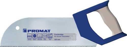 PROMAT Furniersäge Blattlänge 325 mm Zähne per Zoll 15 2-Komponentenkomfortgri